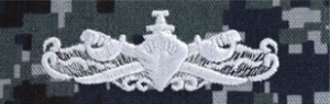 Embroidered Surface Warfare Enlisted Insignia